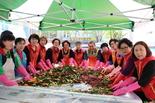 의정부시자원봉사센터 농협합창단 계절김치 나눔행사 진행