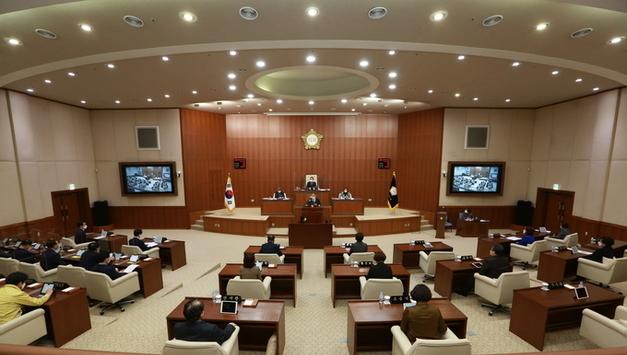 의정부시의회, 제303회 임시회 개회