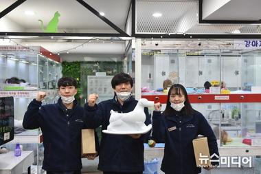 서정대학교 학교기업 세계최초 핸들링교보재 특허개발