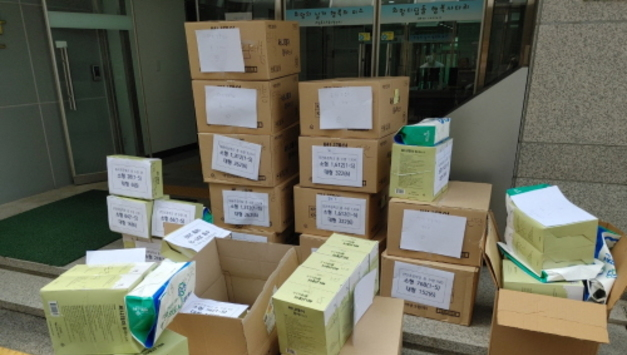 포천시, 관내 31개 초등학교 학생에게 미세먼지 마스크 보급