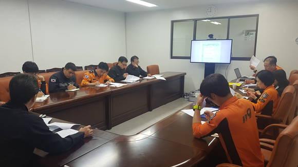 의정부소방서, 겨울철 소방안전대책 설명회 개최
